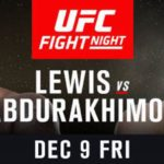 UFC Debuts in Albany as Derrick Lewis Meets Shamil Abdurakhimov in Battle of Heavyweight Standouts