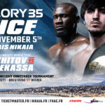 Sittichai vs. Grigorian Postponed, Light Heavyweight Title Unification Headlines GLORY 35 Nice