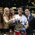 Eduard Folayang Stops Shinya Aoki to Become ONE Lightweight Champion