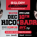 GLORY Partners with UFC.tv for GLORY: Collision PPV Special Event
