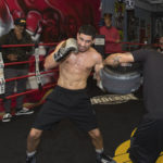 Danny Garcia and Omar Douglas Media Workout Quotes