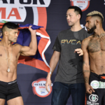 Joe Taimanglo, Darrion Caldwell Make Weight for Bellator 167 Main Event