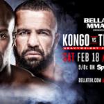 Cheick Kongo vs. Oli Thompson Added to Bellator 172 on Feb. 18