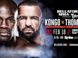 Cheick Kongo vs. Oli Thompson