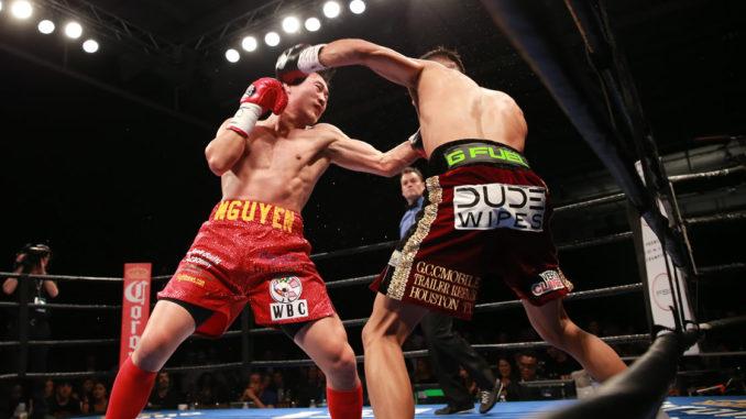 Miguel Flores vs Dat Nguyen.