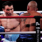 Bloodied Kanat Islam Stops Robson Assis in First Round