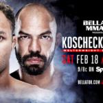 Josh Koscheck Making Bellator MMA Debut on Feb. 18