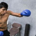Mario Barrios Battles Yardley Suarez on March 4 in Brooklyn